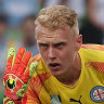City keeper Glover backs FFA's push for 'over-age' players at 2021 Games