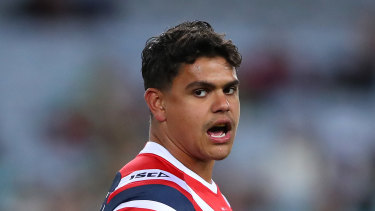 Roosters centre Latrell Mitchell is poised to finally join arch rivals South Sydney.