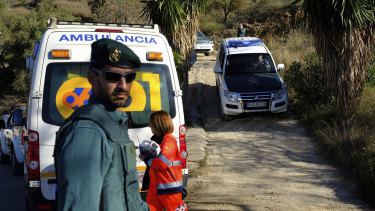 More than 100 firefighters and emergency workers in southern Spain have been searching for the 2-year-old toddler who fell into a narrow, 100-metre deep well.