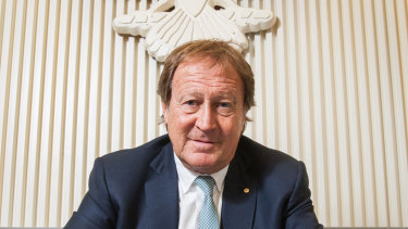 Australian adman Bill Muirhead in 2015.