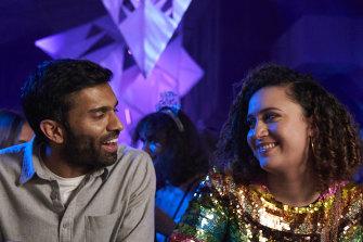 Nikesh Patel and Rose Matafeo in <i>Starstruck</i>.