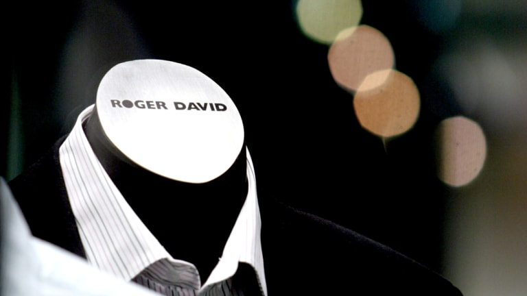 Roger David has struggled to cope with competition.