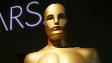 New controversy: an Oscars statue at the 91st Academy Awards Nominees Luncheon this month.