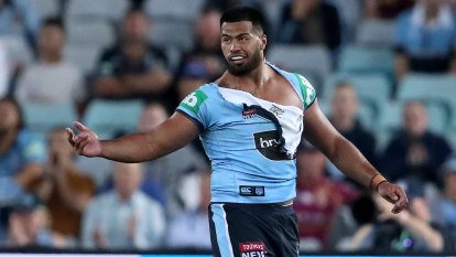 Broncos and NSW Origin star Payne Haas arrested after alleged abusive behaviour