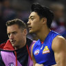 Jong on sidelines again with another injury setback