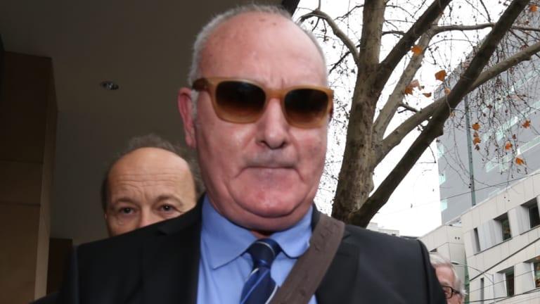 IVF fraudster Raffaele Di Paolo outside court after an earlier hearing.