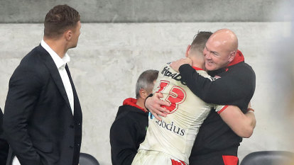 The win cries Mary as Dragons coach Paul McGregor bows out against Eels