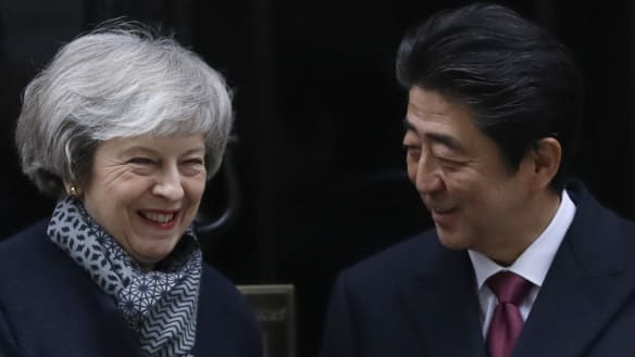 Whole world against no-deal Brexit, says Japanese PM