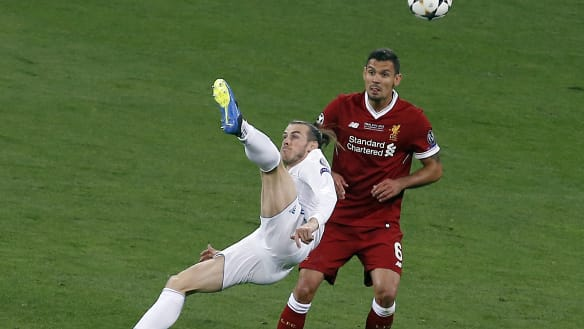 Super Bale sinks Liverpool as Real Madrid make it three in a row