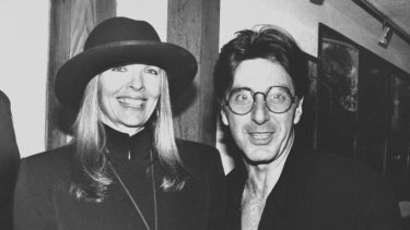 Diane Keaton and Al Pacino.