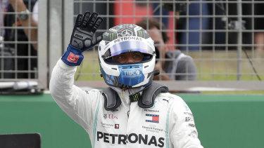Valtteri Bottas just pipped teammate Lewis Hamilton for pole position.