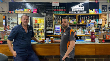 The Steampacket Hotel estimates it has lost $250,000 in trade over the usually busy summer months as fires and floods  put a halt to tourists.