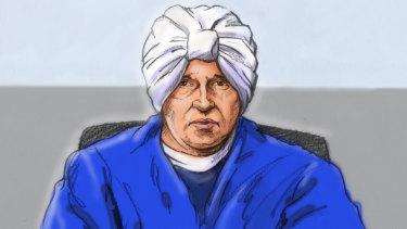 A court sketch of Malka Leifer last week.