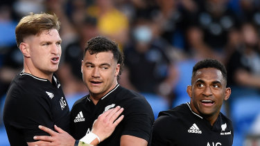 Jordie Barrett and the All Blacks have started fast.