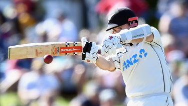 Kane Williamson leads from the front again for New Zealand.