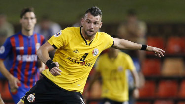 Marko Simic played the entire match against the Jets on Tuesday night.