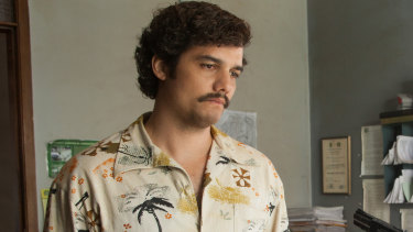Wagner Moura as Pablo Escobar in the Netflix original series 'Narcos'.