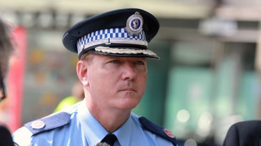 The fixated persons investigations unit was one of NSW Police Commissioner Mick Fuller's first announcements.