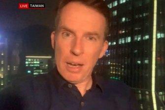 John Sudworth, the BBC's China correspondent.