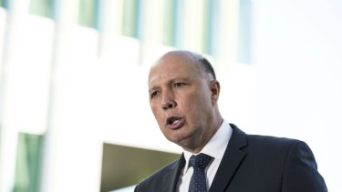 Home Affairs Minister Peter Dutton has powers to overturn visa cancellations but says he did not do it in the case of William Betham.