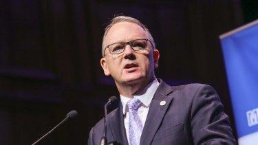 Woodside CEO Peter Coleman.