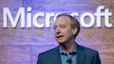 Microsoft president Brad Smith said the conduct was unacceptable.