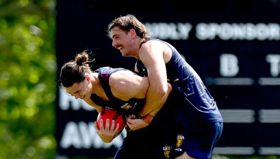 Daniher all smiles in first pre-season outing as a Brisbane Lion