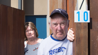 'We're getting more stressed': Pensioners' wait for government to fix cladding nightmare