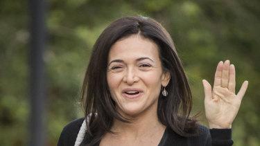Facebook exec and author Sheryl Sandberg, one of many senior business figures putting boundaries around work.