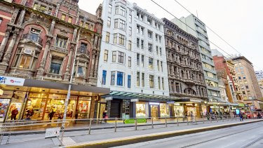 The Brashs building at 108 Elizabeth Street is the latest to get a revamp.