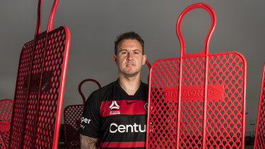 Weaving through the box: New Wanderers signing, Simon Cox.