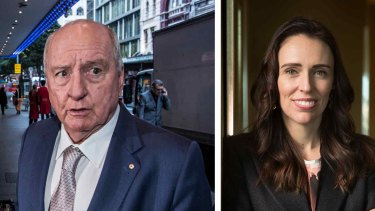 Alan Jones has faced an advertising boycott after making widely-criticised comments about Jacinda Ardern.