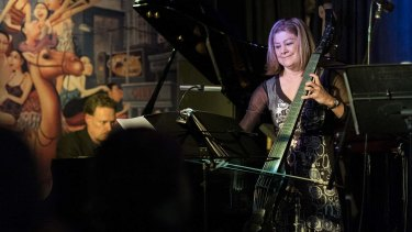 Matt McMahon and Jenny Eriksson of Elysian Fields: eccentric instrumentation, Scandi folk tunes, and grooves rooted in jazz.