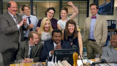 The Office on Stan.