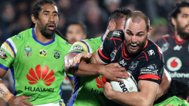 Simon Mannering returns to the Warriors after a year in Australia.