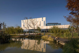 Ningbo's new library is one of five finalists for the International Federation of Library Associations (IFLA) library of the year.