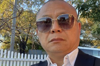 """Fast"" Eddie Zhi, a meat industry poacher-turned-gamekeeper."