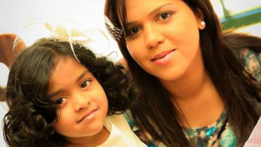 Manik Suriaaratchi (right) and her 10-year-old daughter, Alexendria, both perished in the Easter Sunday terror attacks in Sri Lanka.