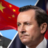 'Acting against our own interests': WA Premier fires up on Australia-China relationship