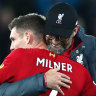 Liverpool thump Everton, Rashford's double sinks Mourinho's Spurs