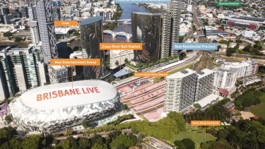 Roma Street Transit Centre will be demolished to make way for the new Brisbane Live development.