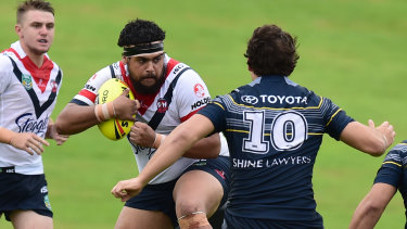 Shaquai Mitchell is having another crack at a rugby league career after taking some time out.