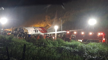 The Air India Express plane was repatriating Indians who had been stuck in Dubai during the pandemic.
