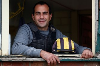 Saab Hasan's life-long passion for horse racing has seen him leave war-torn origins, migrate to Australia, learn English and hold down multiple jobs to get a start in the industry and now be recognised.