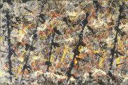 Jackson Pollock's 'Blue Poles'.