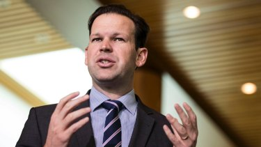"""Senator Matt Canavan said """"a lot of people make comments about the coal market and they have no bloody idea about the coal market""""."""