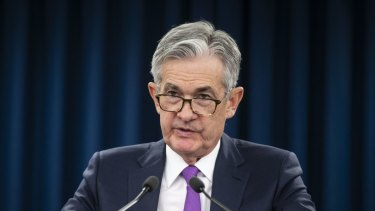 Fed Chairman Jerome Powell's sudden concern about the outlook for the world and US economies has put a rocket under the sharemarket.