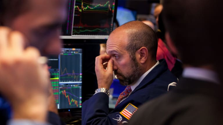 Wall Street had another choppy session.
