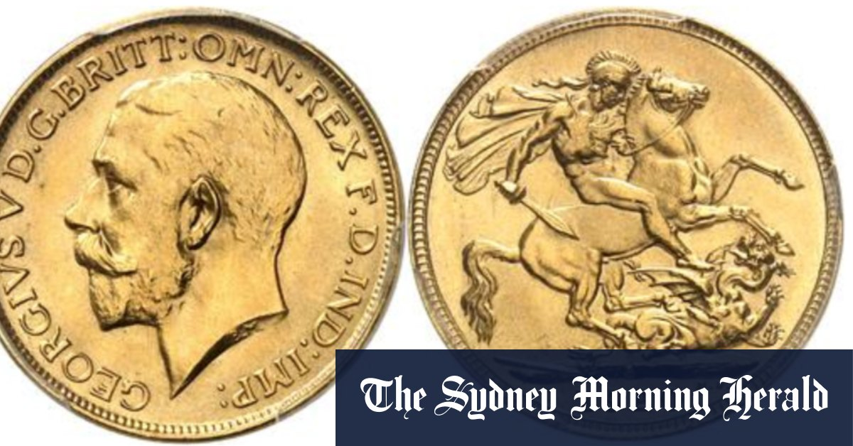 Highest auction price worldwide for rare Australian coins