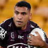 'He won't be at the Roosters': Robinson rules out play for Pangai jnr